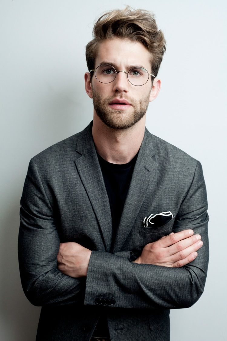 André Hamann is a Charming Intellectual for René F