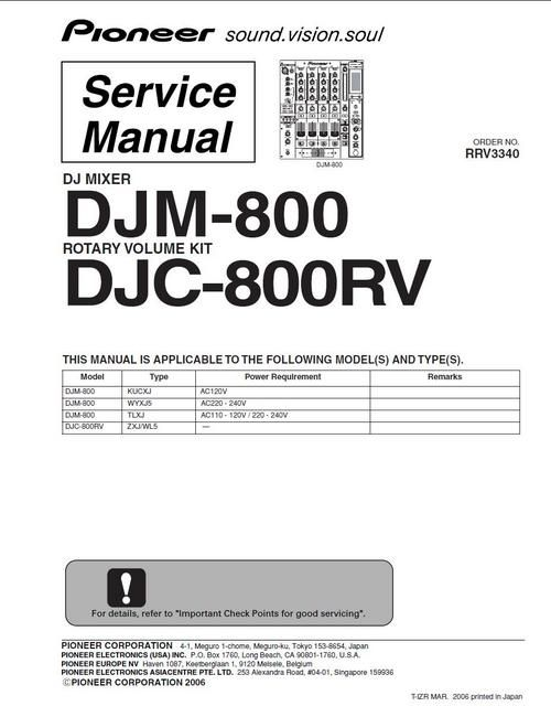 Pioneer djm 800 mixer manual by u644 issuu.