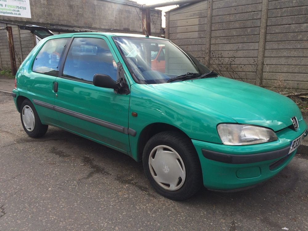 eBay: PEUGEOT 106 1.1 XL * 1998 * 40,000 MILES * SPARES OR REPAIRS ...