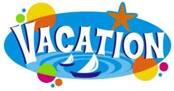 Taking A Vacation Clip Art