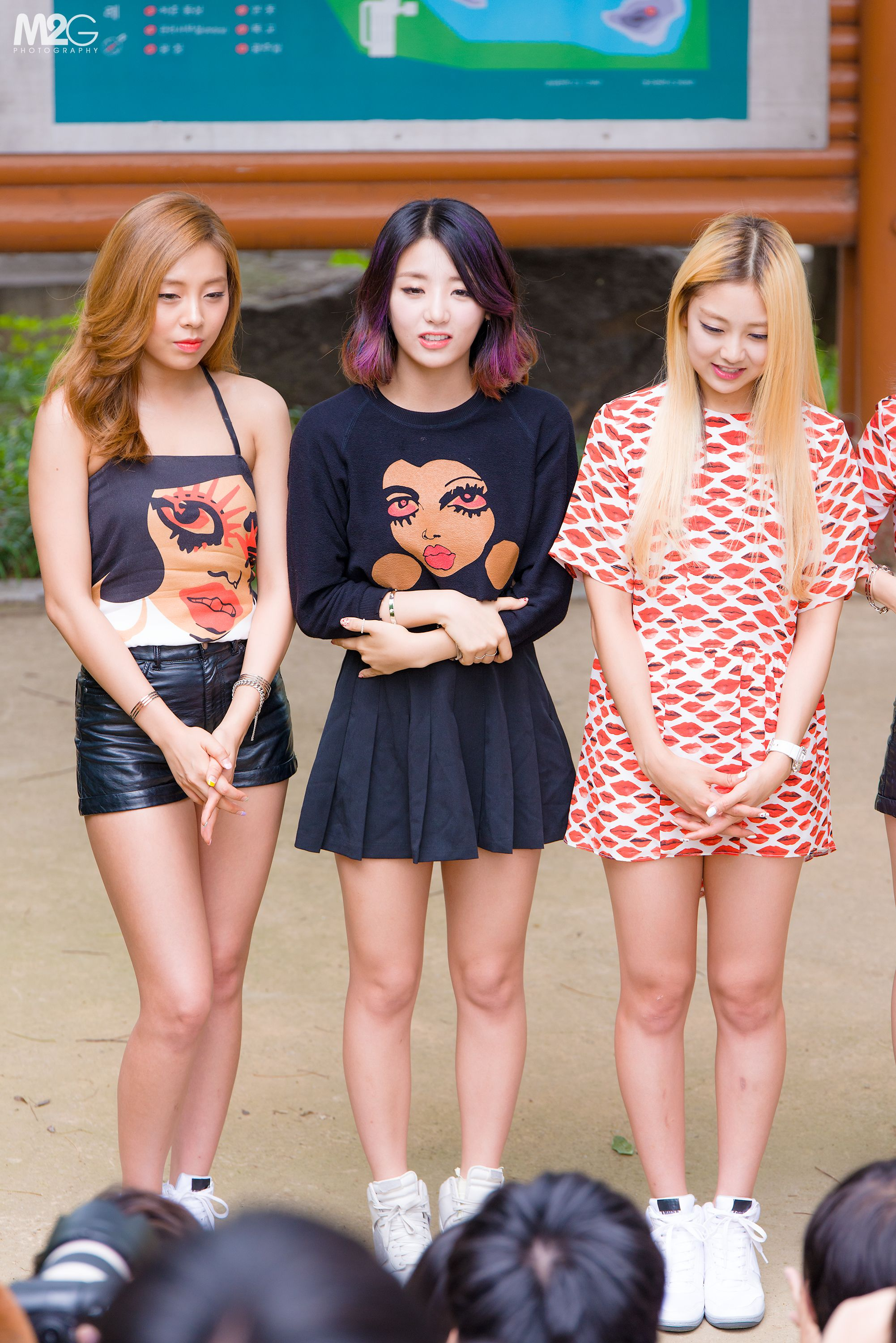 Ladies Code Ashley Eunb And Rise Lady Kpop Girls Beutiful Girls
