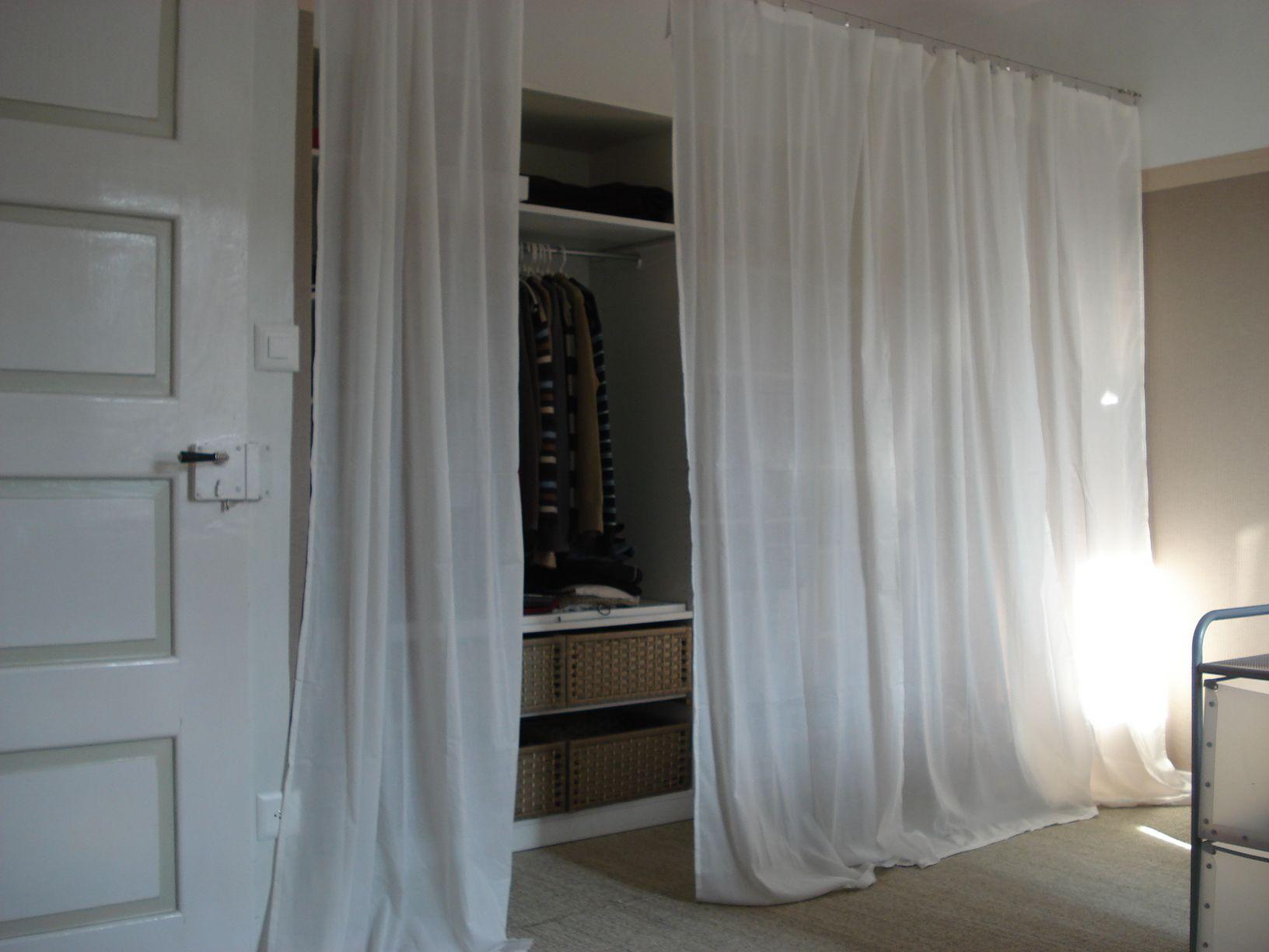 Armoire Pour Chambre Mansardée tout faire un dressing | dressing | pinterest | armoire chambre