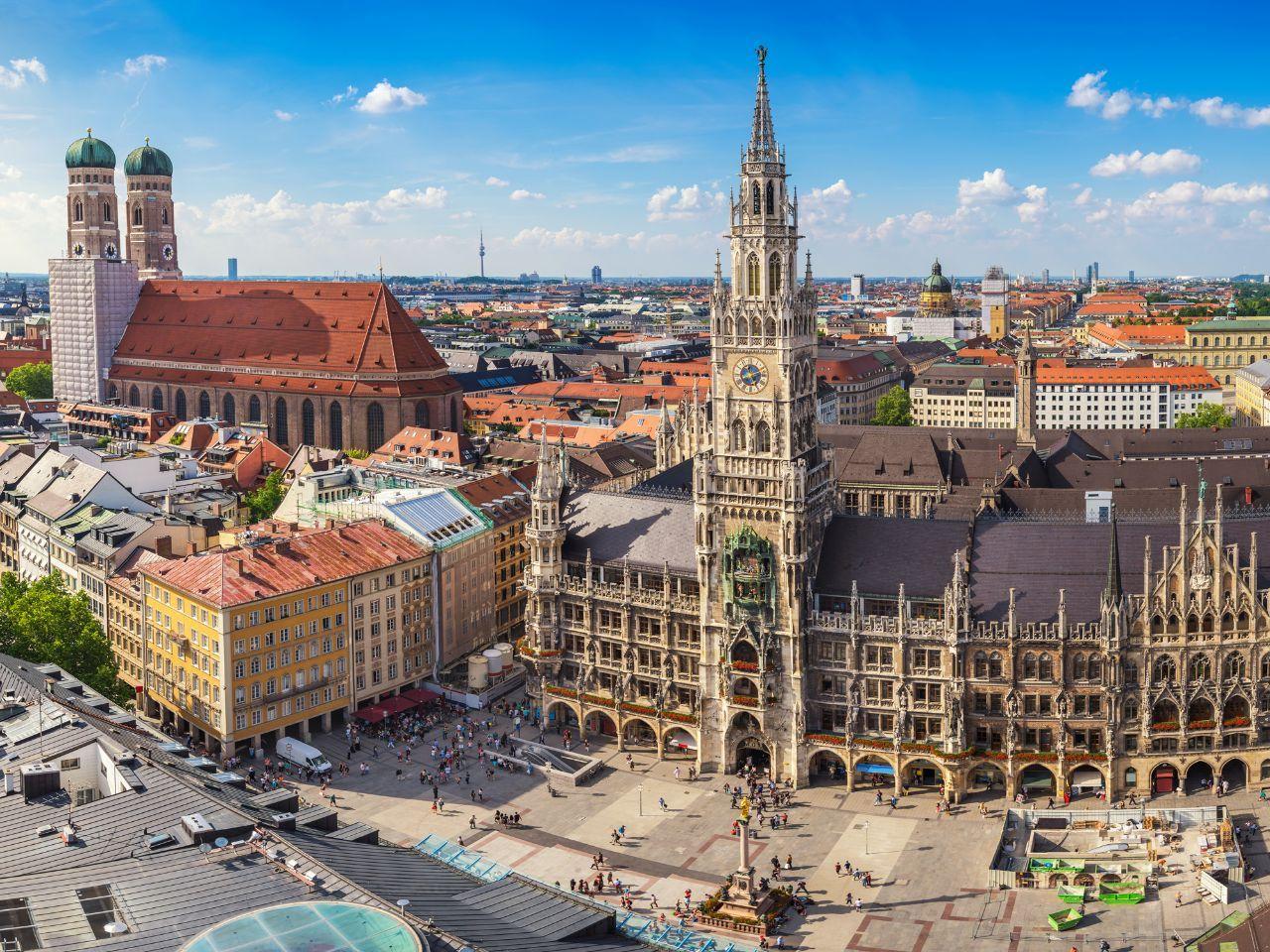Der Marienplatz Deutsche Sehenswurdigkeiten Deutschland Reisen