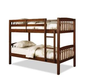 Best 179 99 Walnut Brown Bunk Bed Kmart Twin Bunk Beds 640 x 480