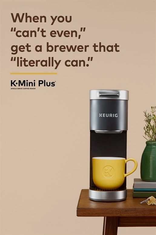 KeurigThe K-Mini Plus Coffee Maker #fiberfruits