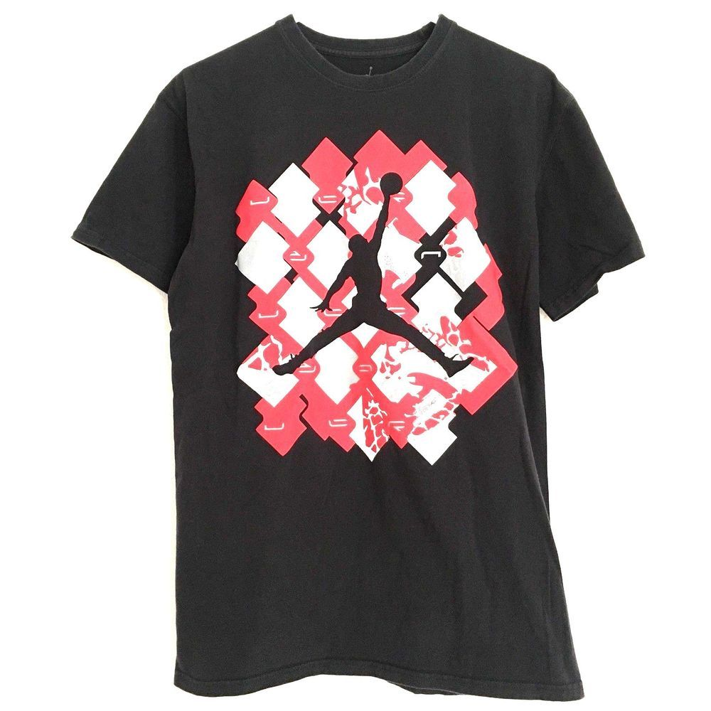 d831e96ebeca Air Jordan Men s Large T-Shirt Black 100% Cotton Basketball Slam Dunk  Graphic  AirJordan  GraphicTee