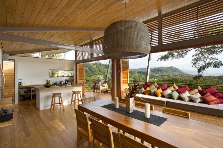 Diseño de casa de madera para zonas cálidas o tropicales | Casa de ...