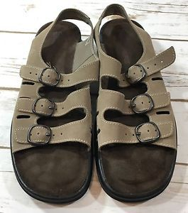 ce5e7acb73f8 NEW Clarks Springers Womens SUNBEAT Comfort Walking Sandals Mushroom Taupe  8N