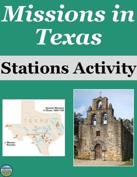 texas missions activity texas history history activities map activities learning spanish. Black Bedroom Furniture Sets. Home Design Ideas