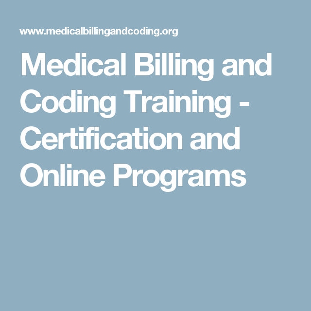 Medical Billing And Coding Training Certification And Online