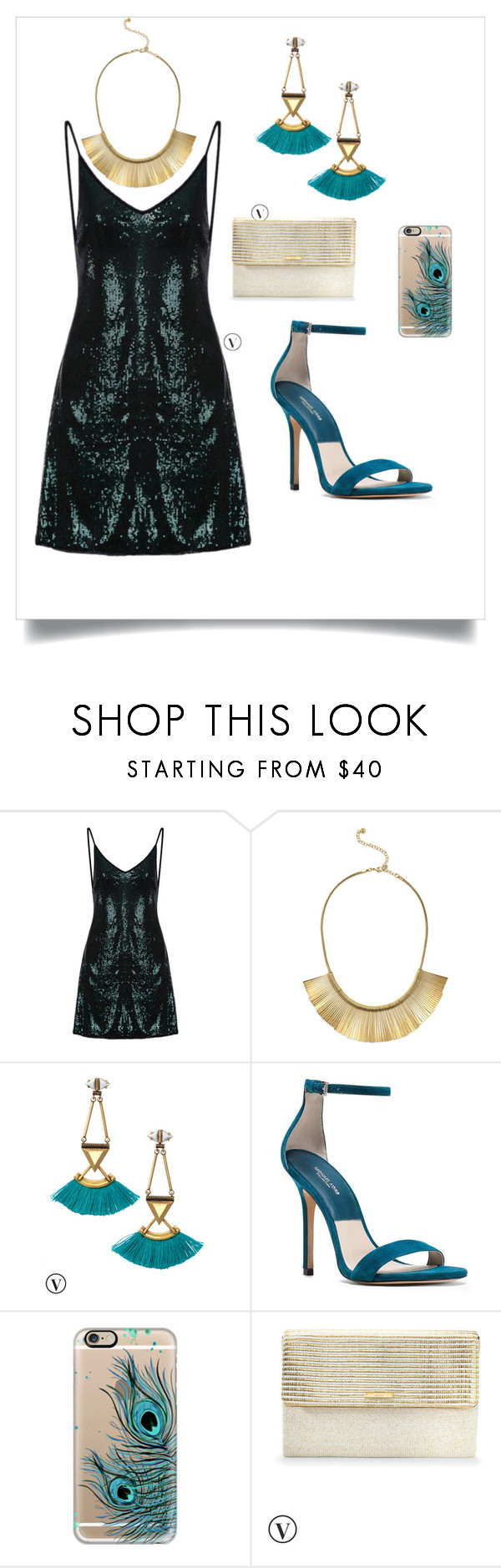 """""""Peacock"""" by gerry-4 on Polyvore featuring Stella & Dot, Michael Kors and Casetify"""