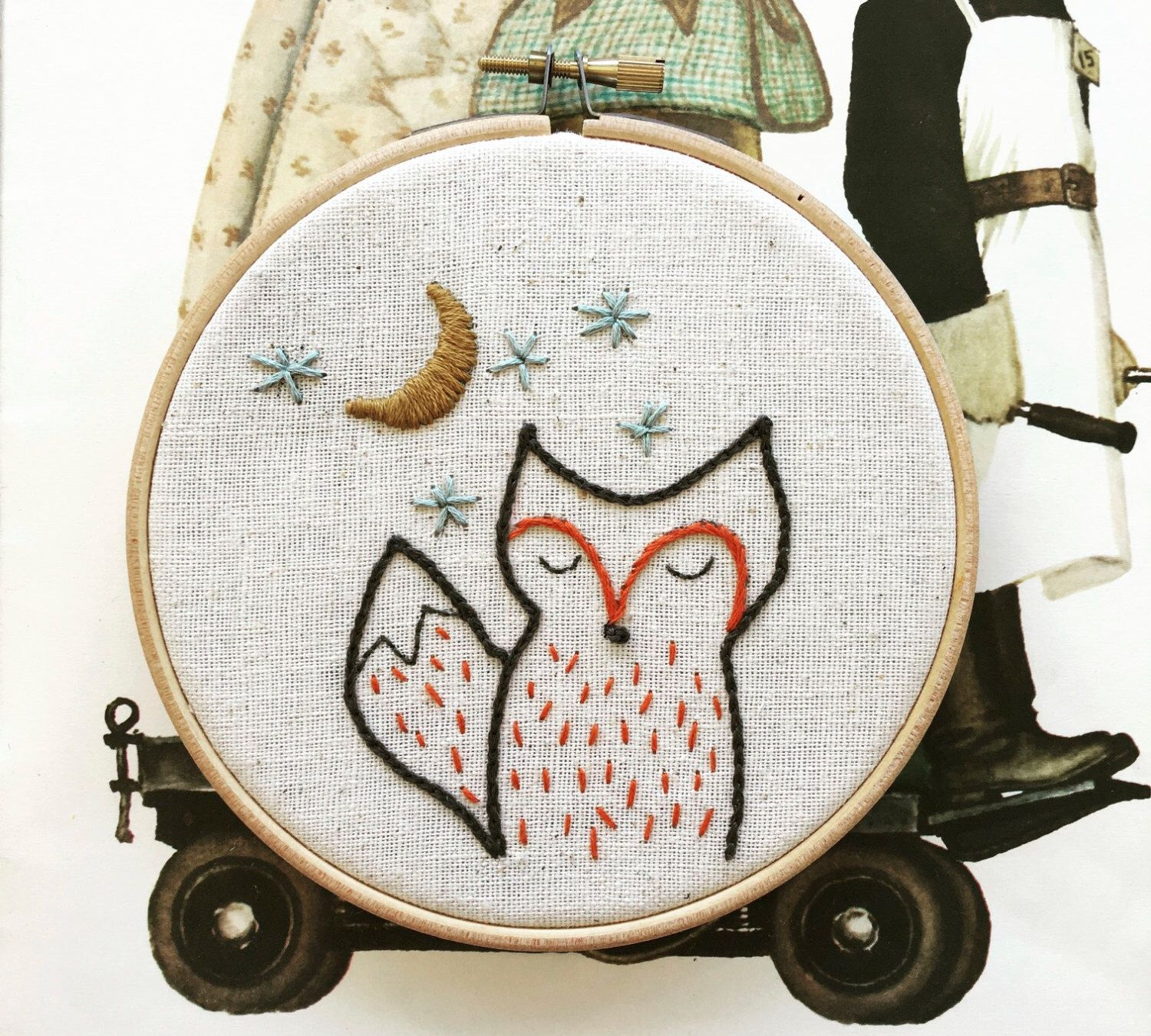 embroidery pattern | hand embroidery pattern | modern embroidery ...