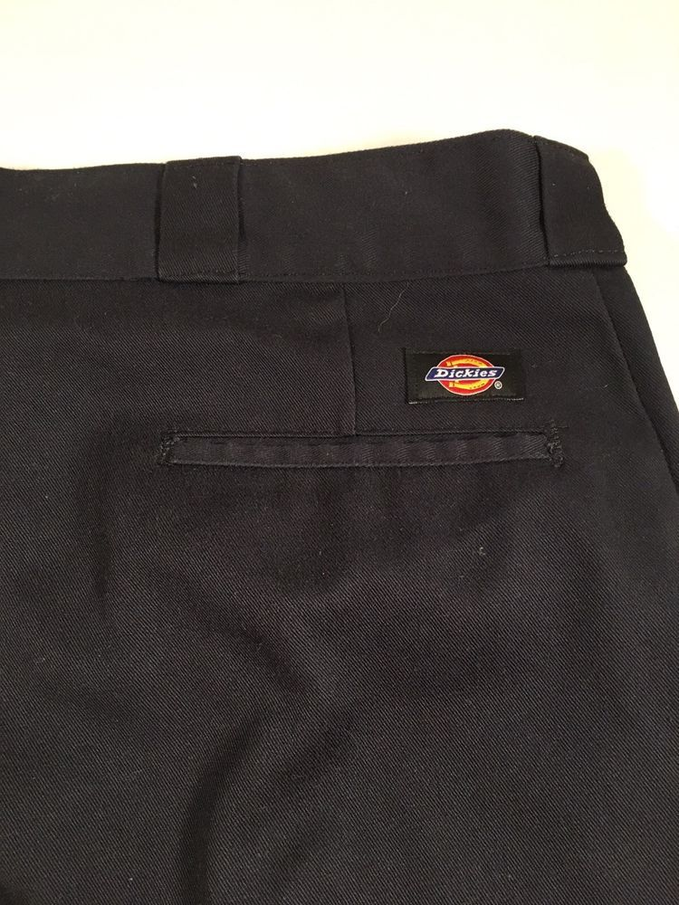 Dickies 874 original fit straight boot black jeans