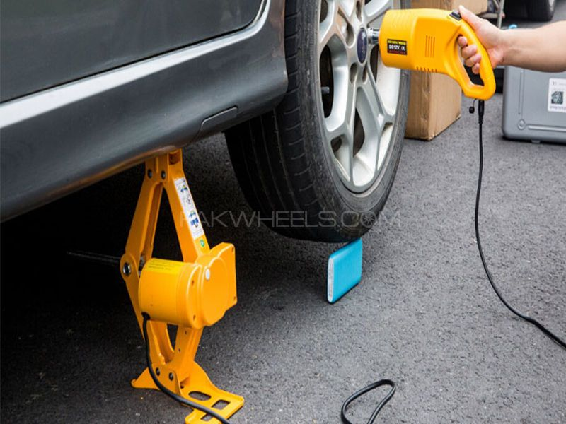 Electric Car Jack With Impact Wrench Car Jack Electric Cars Impact Wrench