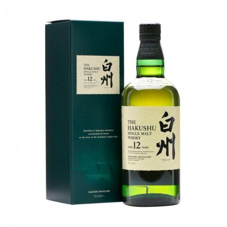 Whisky Hakushu 12 Anos Botellas De Licor Whisky Y Botellas De