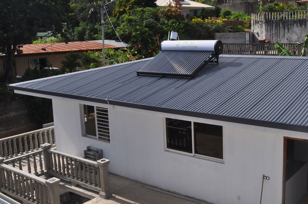 Our solar roof heating systems are high presentation, as well as