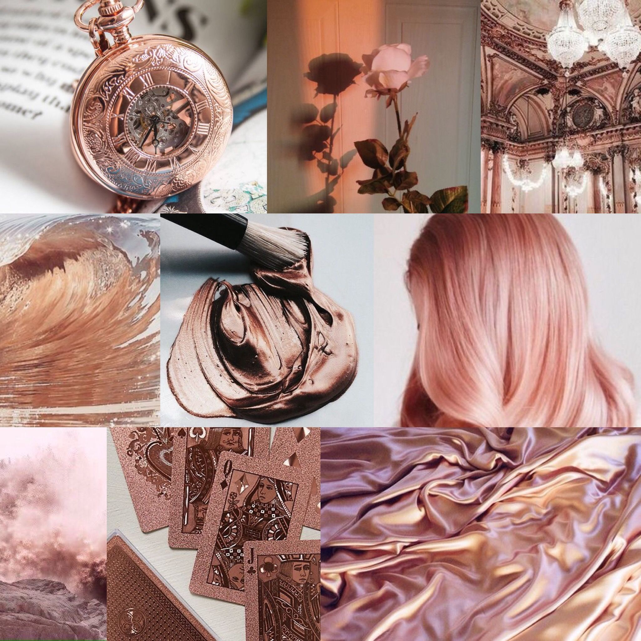 Aesthetic Rose Gold Pictures