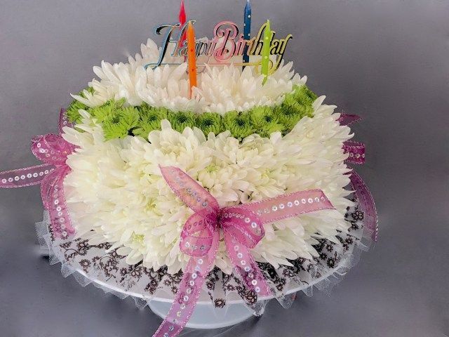 23 Exclusive Image Of Floral Birthday Cake Violet Flower Delivery Dallas Tx I Love BirthdayCakeToppers