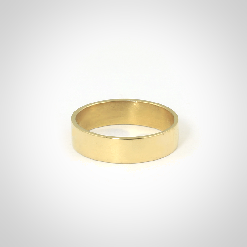 e91ecd6777d9 Alianza cinta de oro amarillo 18k