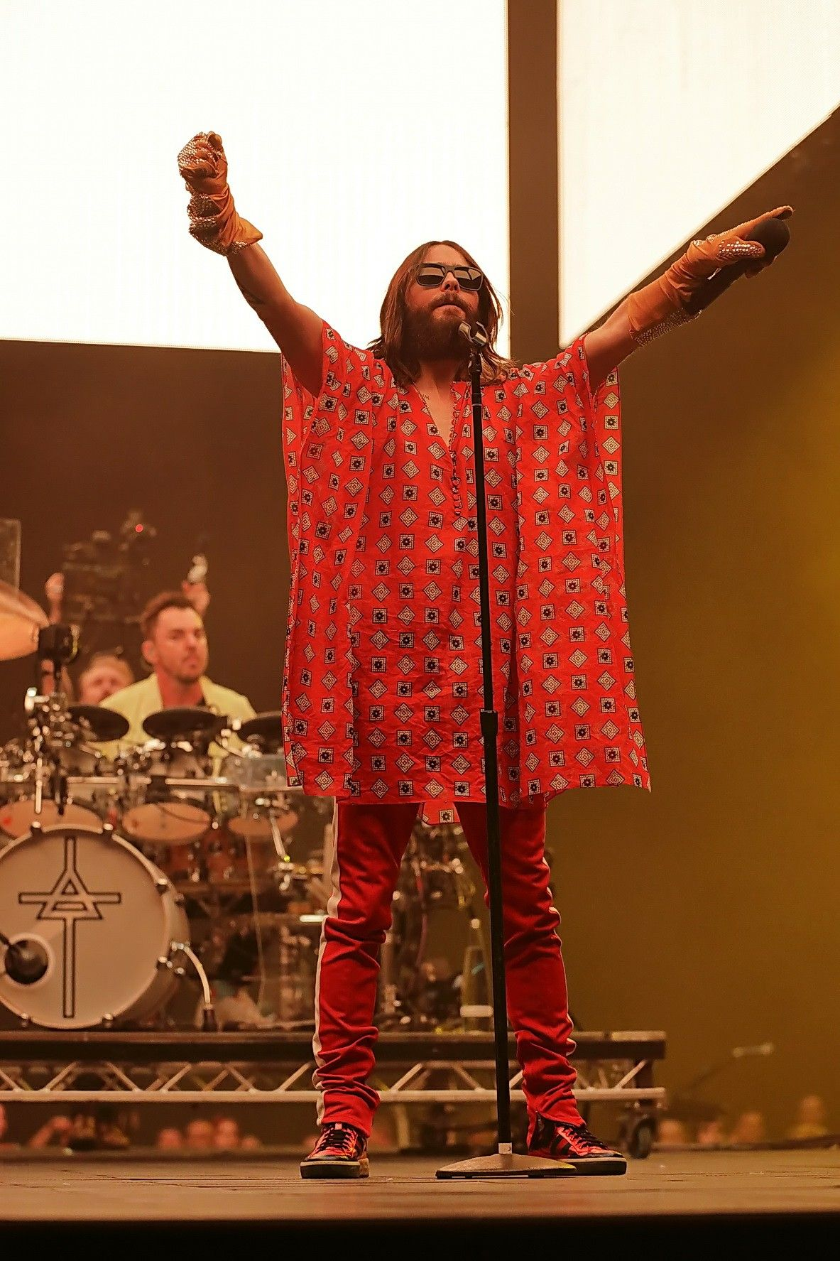 Berlin The Monolith Tour 03 May 2018 Thirty Seconds To Mars Flapper Dress Fashion Flapper