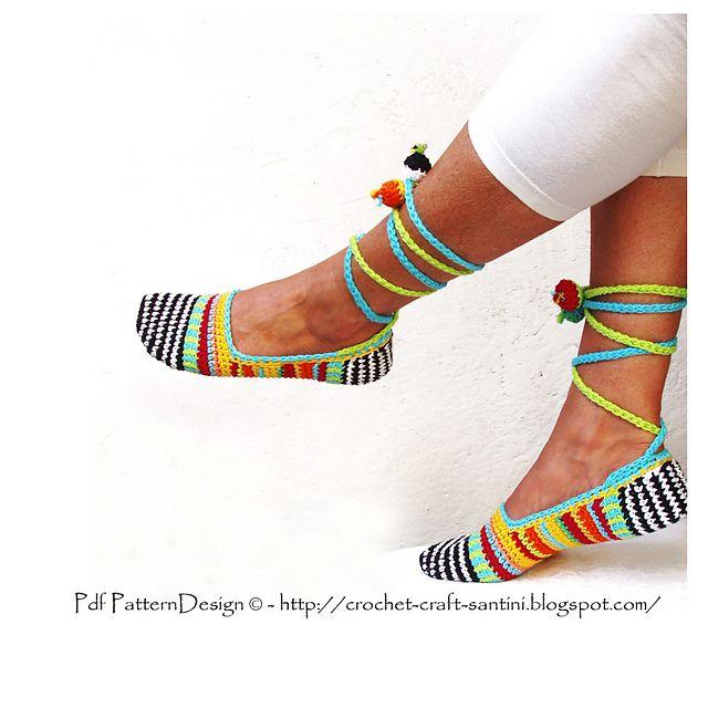 adorable crochet slipper pattern