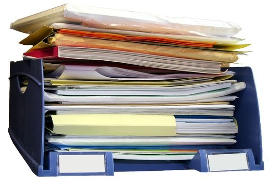 How to organize, QUICKLY, the years of stored and collected personal papers like bank sta… (avec ...