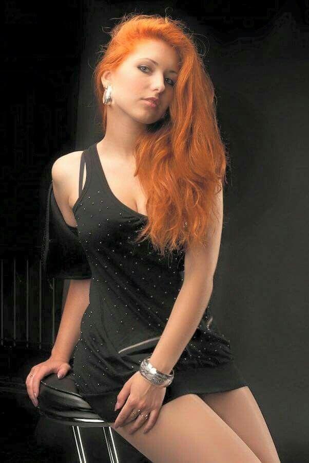 Fashion Blond Girl In Long Black Dress Stock Photo - Image