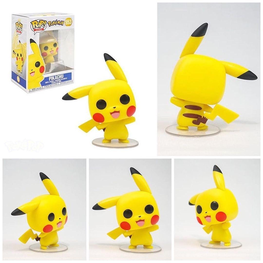 Pokemon Pikachu Waving Pop Vinyl Figure #553