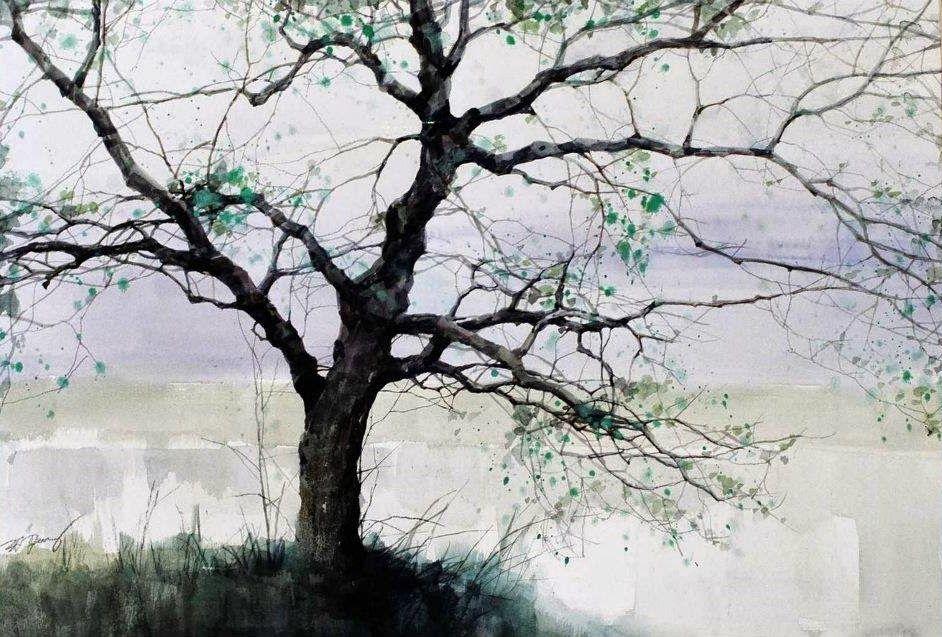 Z.L. Feng, 1954 ~ Watercolor painter