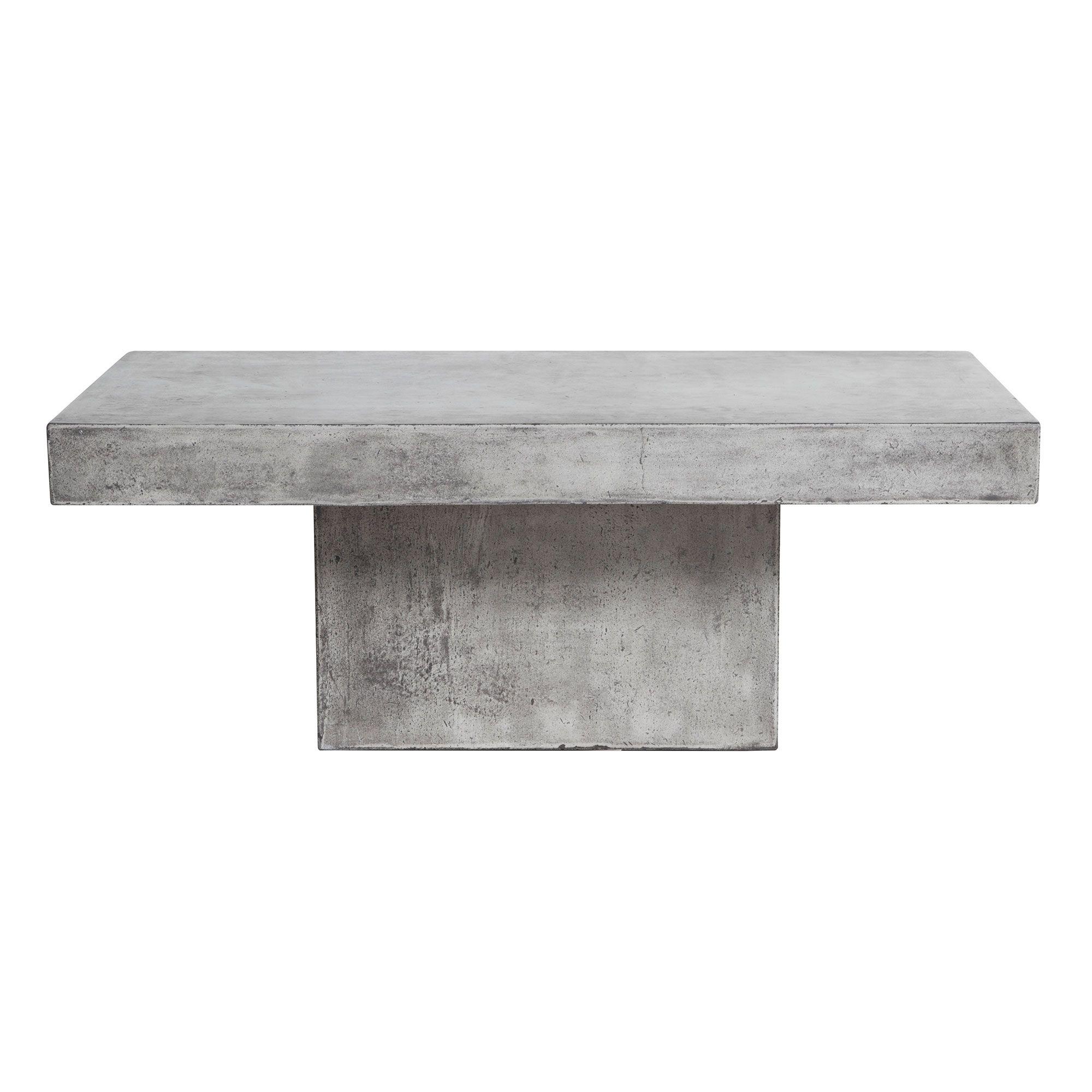 Geradis Lista Coffee Table Concrete Garden Barker