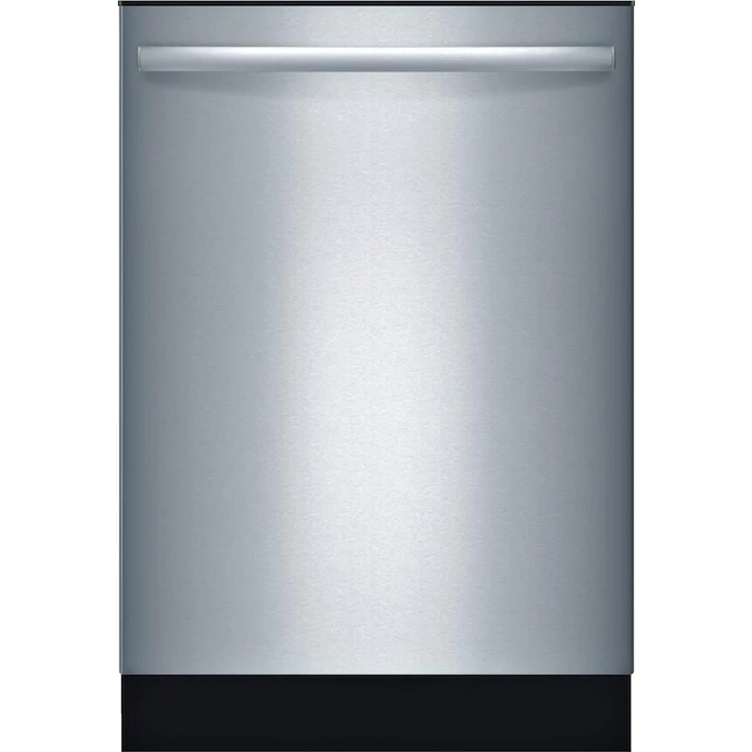 Bosch Ascenta 50 Decibel Top Control 24 In Built In Dishwasher Stainless Steel Energy Star Lowes Com Built In Dishwasher Integrated Dishwasher Steel Tub