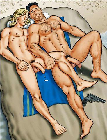 Josman gay cartoon