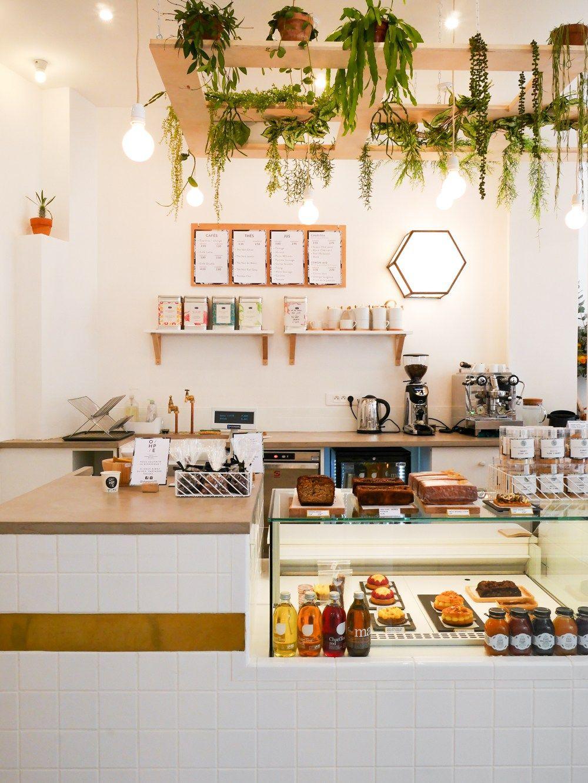 O/hp/e coffee shop et boutique déco  Décor de cuisine rétro