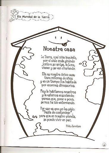 Material educativo para maestros: Día de la Tierra   La casa común ...