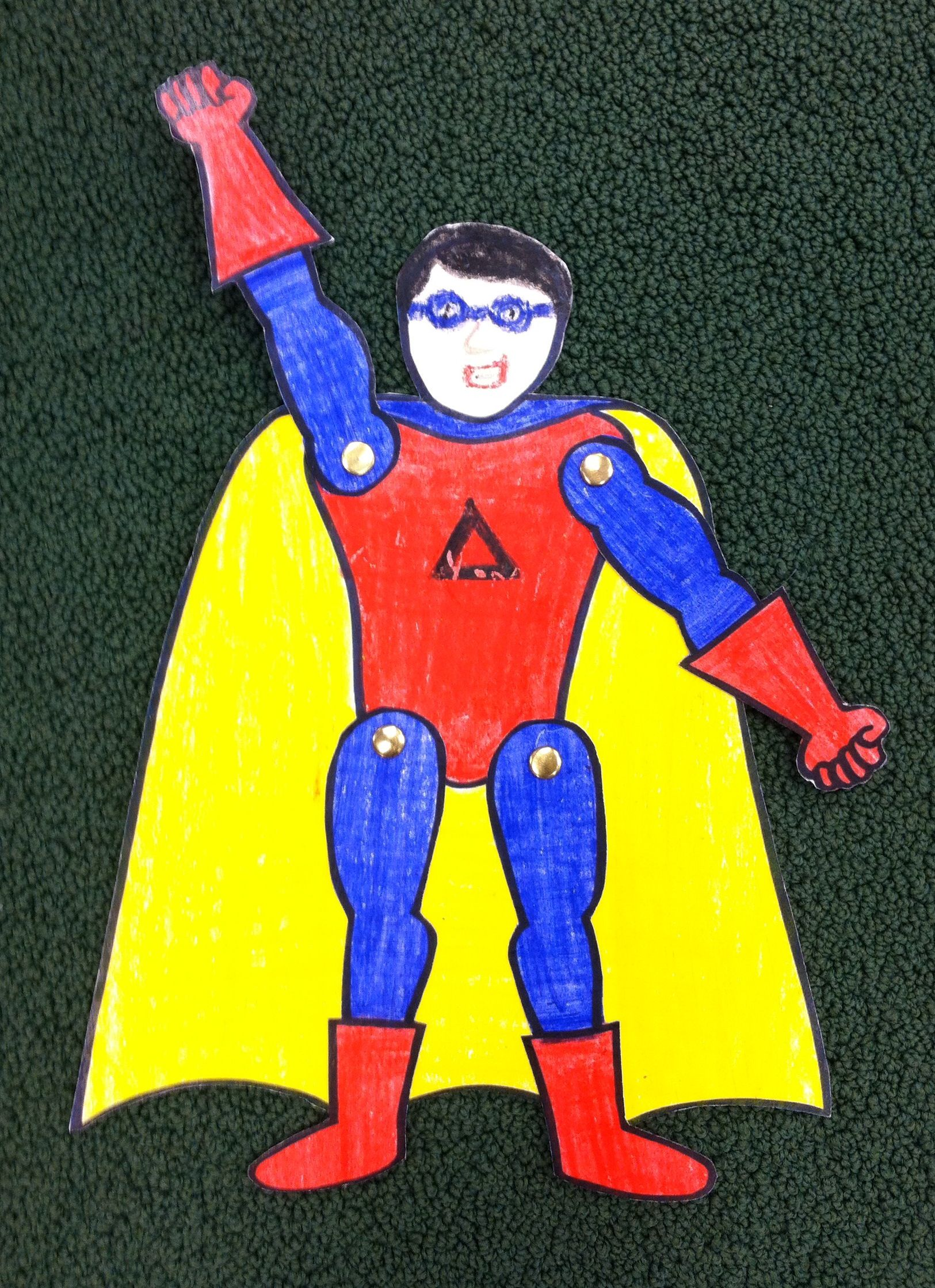 Src Create Your Own Superhero Craft With Images