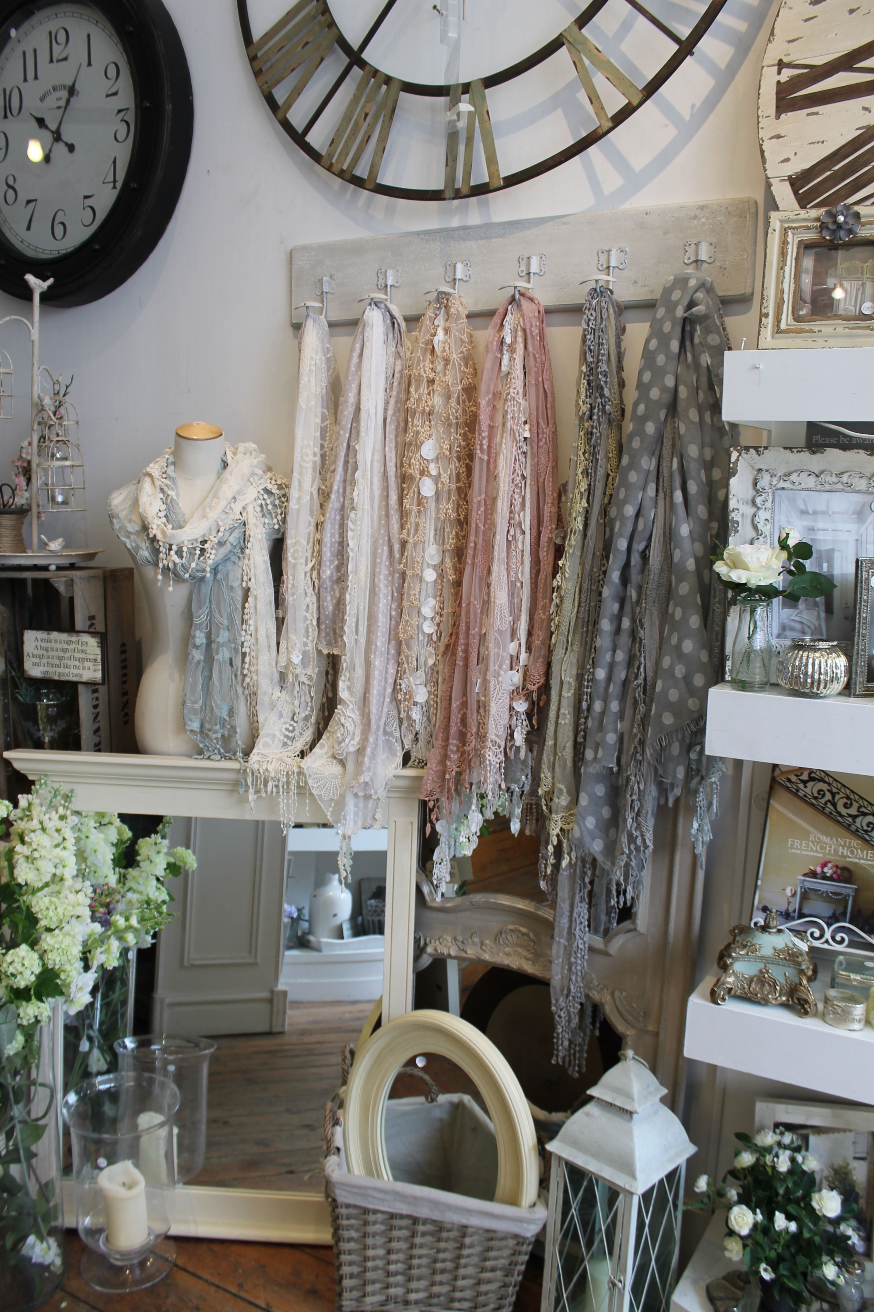 utilize hardware to hang merch for a doubly effective display sales rh pinterest com