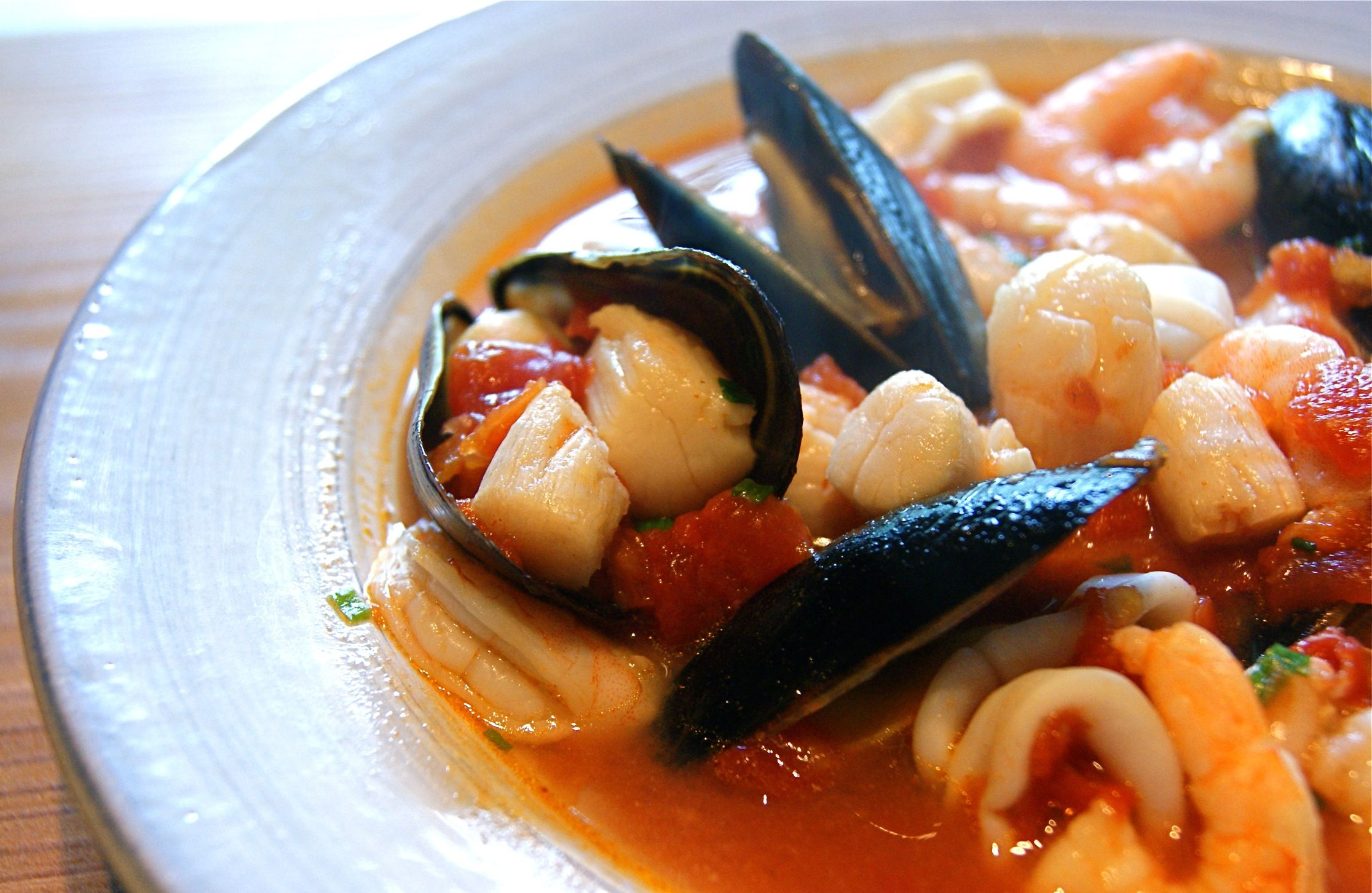 I make a version of this using a bag of frozen seafood mix - delicious and so simple!