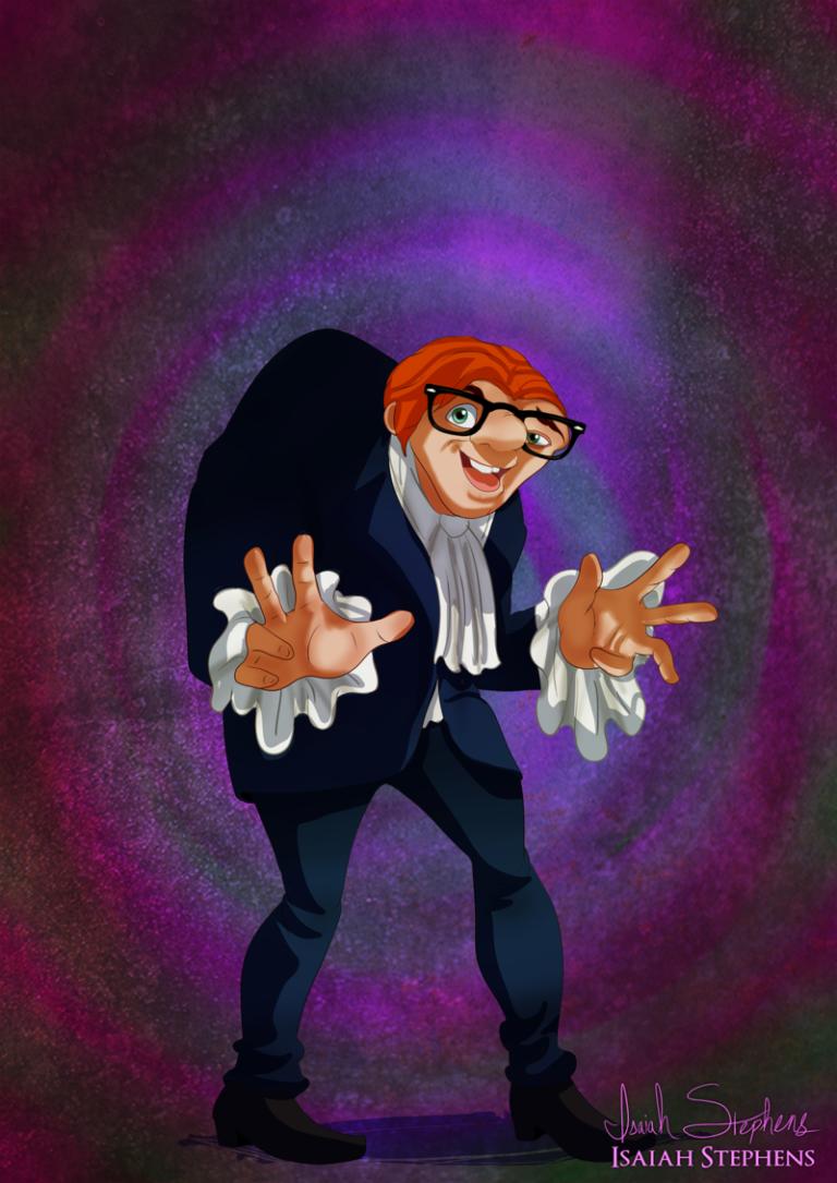E se os personagens da Disney se fantasiassem no Halloween? | Hugo Gloss