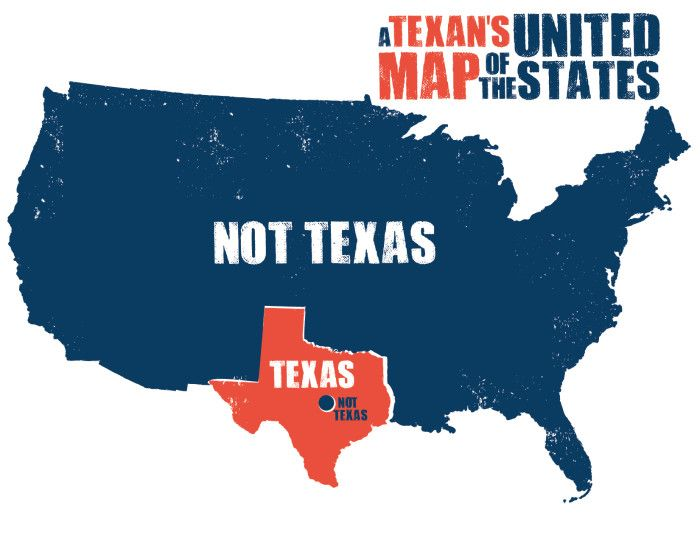 Maps Of Texas That Are Just Too Perfect And Hilarious Texas - Funny maps of the us