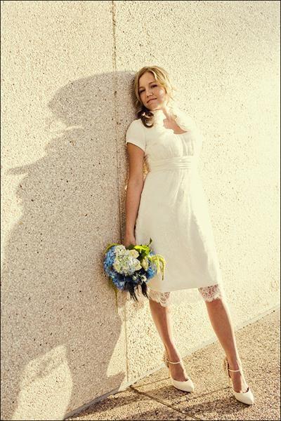 Невеста в гипюровом