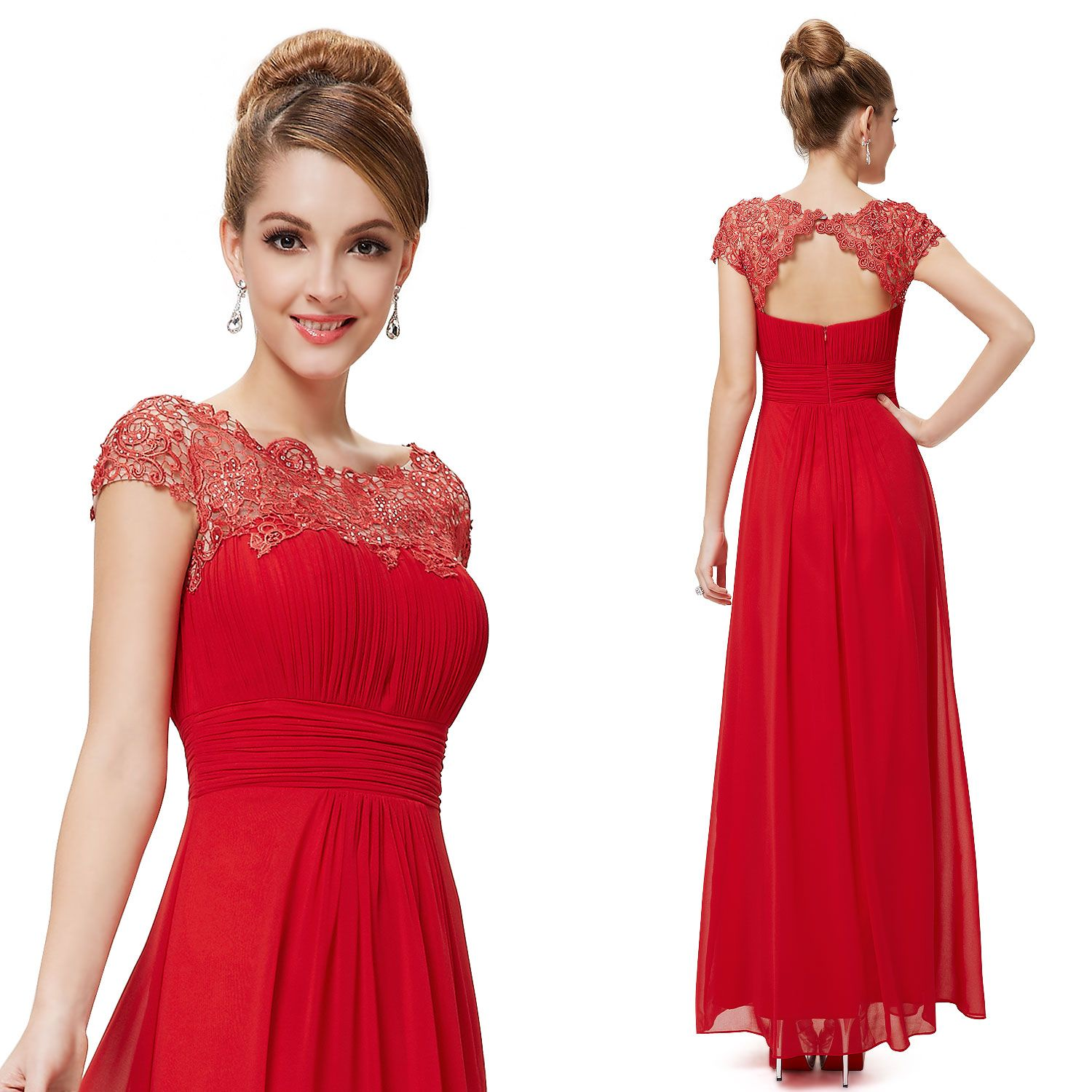 Dress style red dresseseveningpromformal gowncocktail