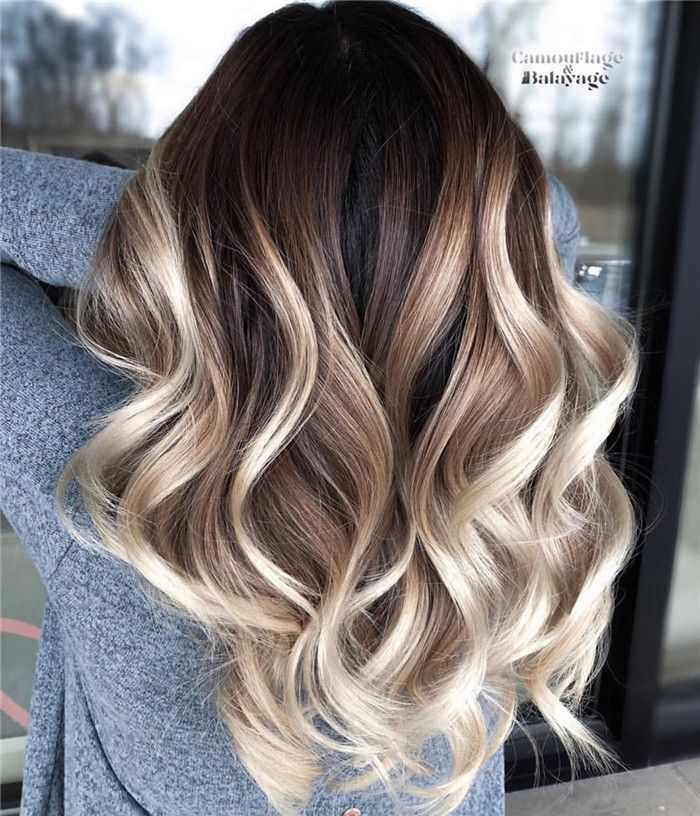 Photo of 33 Balayage Hair Color Ideas For Brunettes Long Hair