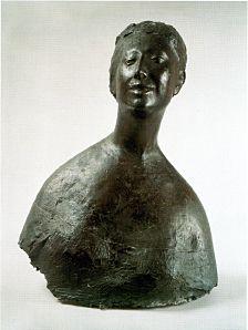 Giacomo Manzù, Bust of a Woman, 1952.