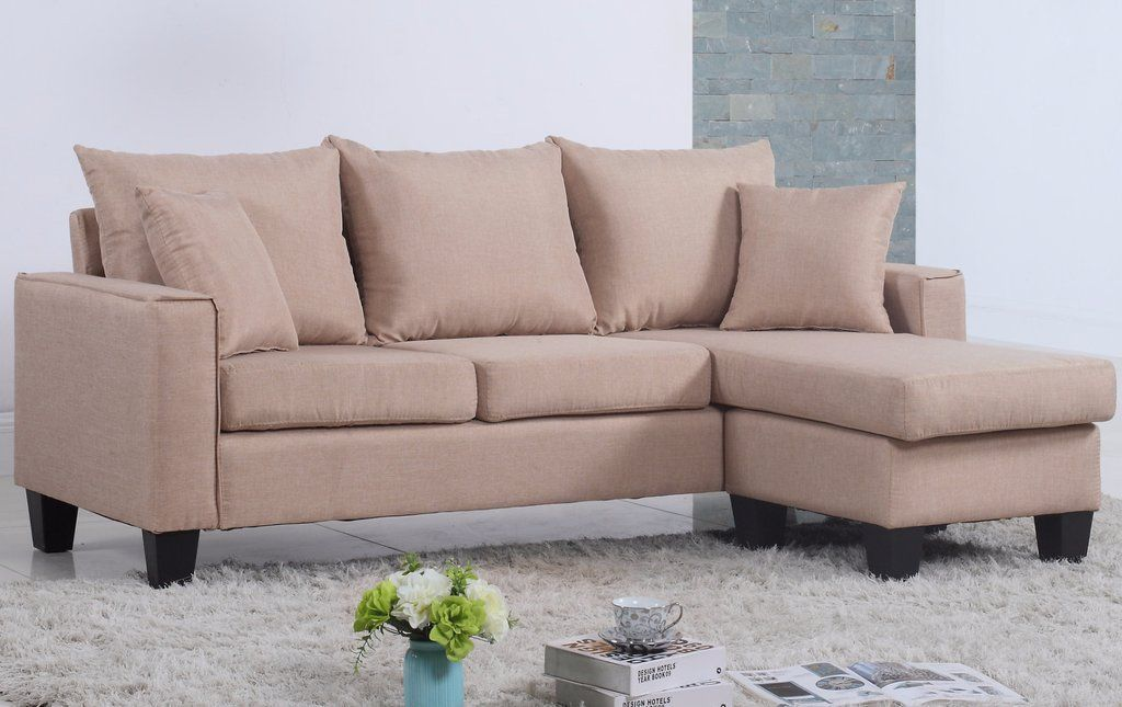 lisa vibrant contemporary small space saving sectional sofa in 2019 rh in pinterest com