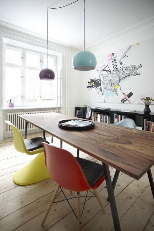 mix and match your dining room chairs furniture swoon panton rh pinterest com