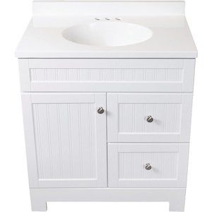 continental cabinets edgewater vanity with top cbc21130d mcalpin rh pinterest com