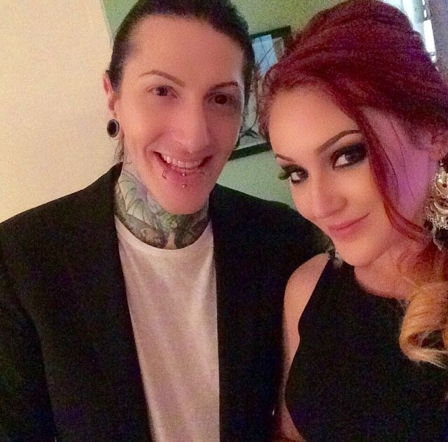 Chris Motionless And Sabrina Malfoy Bands Pinterest Motionless