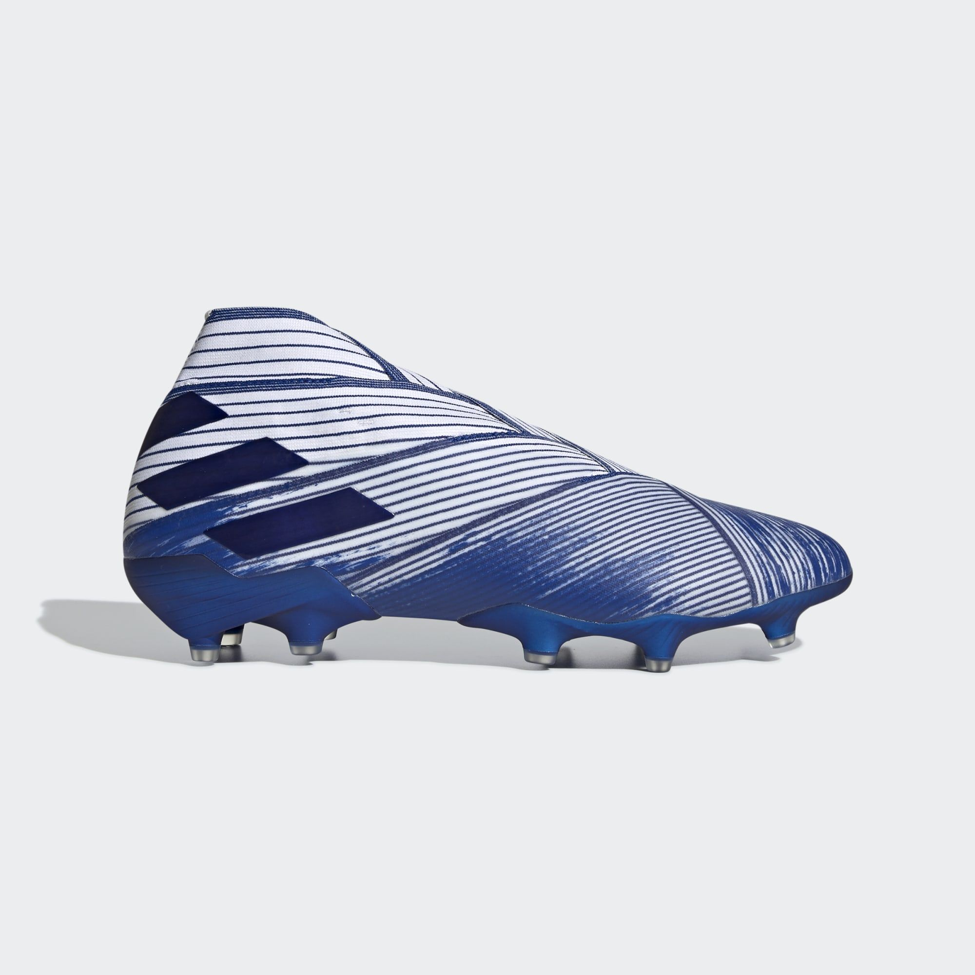 Adidas Nemeziz 19 Mutator Firm Ground Boots Team Royal Blue Cloud White Core Black Adidasfootball In 2020 Cleats Roller Skating Adidas