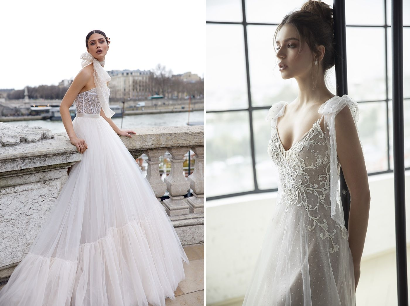 03316e199c25 Top Israeli Bridal Couture Designer Julie Vino will be in our boutique for  a trunk show event with her Paris, Venice, Blush, Pearl and Love Story  Collection ...