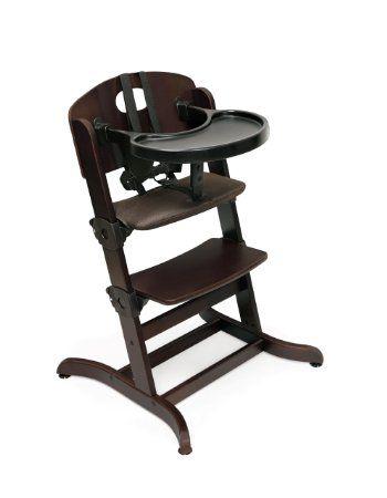 amazon com badger basket evolve convertible wood high chair with rh pinterest ca